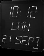 Horloge à led pour les entreprises et collectivités